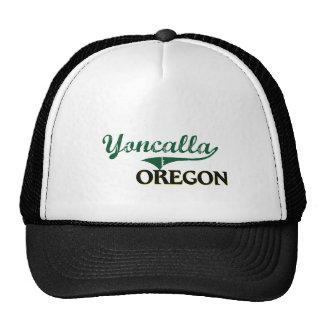 Yoncalla Oregon Classic Design Trucker Hat