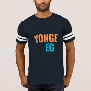 Yonge Eglinton Toronto Neighbourhoods Football Tee