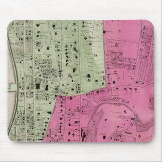 Yonkers, atlas de NY Alfombrilla De Ratón