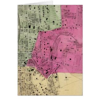 Yonkers, atlas de NY Tarjetón