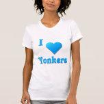 Yonkers -- Azul de cielo Camisetas