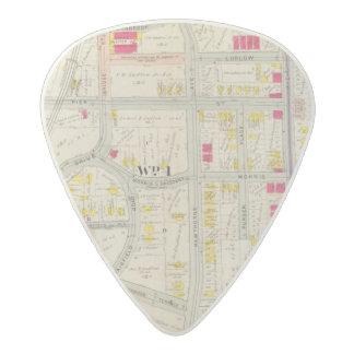 Yonkers Map Atlas Acetal Guitar Pick