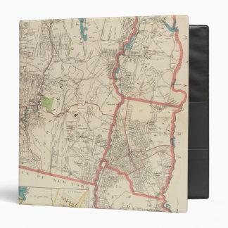 """Yonkers, Mt Vernon, ciudades de Eastchester Carpeta 1 1/2"""""""