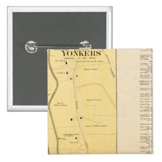 Yonkers N pt Pinback Button