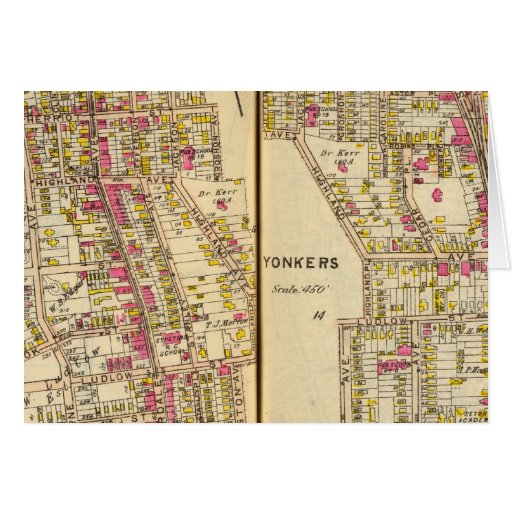 Yonkers, New York 11 Greeting Card