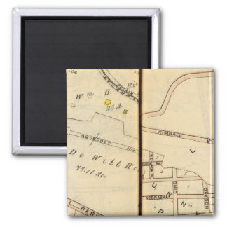 Yonkers, New York 6 2 Inch Square Magnet