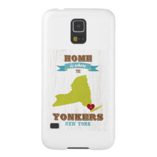 Yonkers, New York Map – Home Is Where The Heart Is Galaxy S5 Cover
