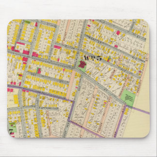 Yonkers New York Map Mouse Pad