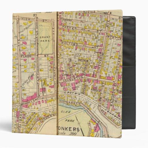 "Yonkers, Nueva York 15 Carpeta 1 1/2"""