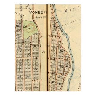 Yonkers, Nueva York 4 Tarjeta Postal