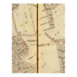 Yonkers, Nueva York 7 Tarjetas Postales