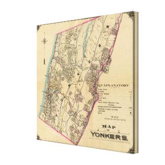 Yonkers, Nueva York Lienzo Envuelto Para Galerías