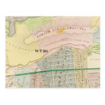 Yonkers NY Atlas Map Postcards