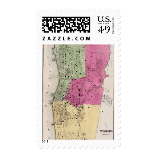 Yonkers, NY Atlas Postage