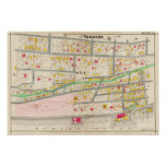 Yonkers NY Map Poster