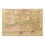 Yonkers NY Map Wood Canvases