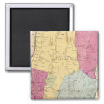 Yonkers, Town 2 Inch Square Magnet