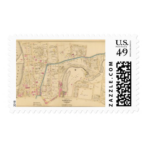 Yonkers wards 2-3, New York Postage