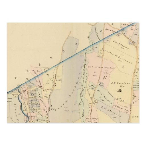 Yonkers wards 3-4, New York Postcard