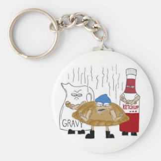 Yooper Badass Pasty Keychain