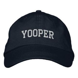 Yooper Embroidered Basic Cap Navy Blue
