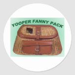 YOOPER GIFT ITEMS ROUND STICKER