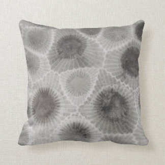 Yooper Petoskey Stone Throw Pillow