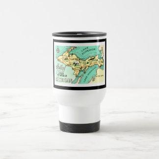 Yooper Vintage Postcard Travel Mug