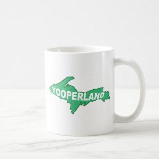 Yooperland Classic White Coffee Mug
