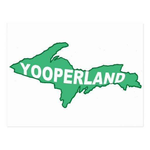 Yooperland Postcard