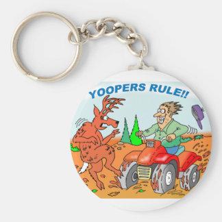 Yoopers Rule Keychain