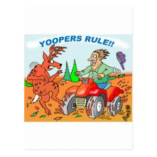 Yoopers Rule Postcard