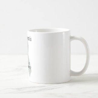 YOPD CLASSIC WHITE COFFEE MUG