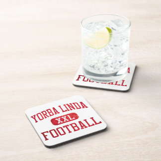 Yorba Linda Mustangs Football Beverage Coaster