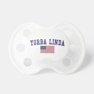 Yorba Linda US Flag Pacifier