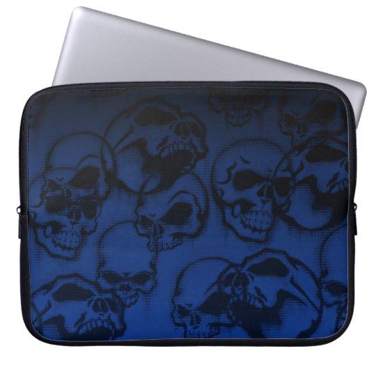 Yorick's Skull Creepy Abstract Computer Sleeve