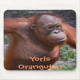Yoris Orangutan Mousepad