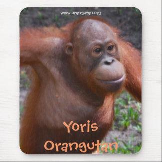 Yoris Orangutan Mouse Pad