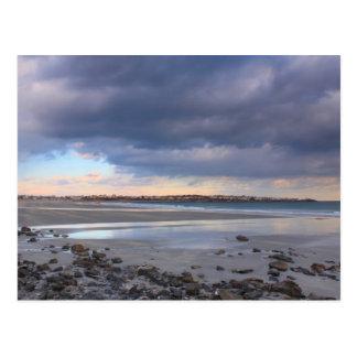 York Beach Maine Quiet Winter Day Postcard