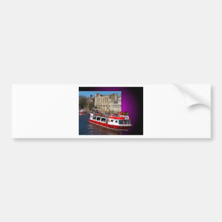 York Boat out of Bounds Car Bumper Sticker