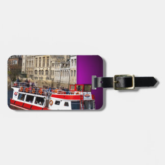 York Boat out of Bounds Luggage Tag