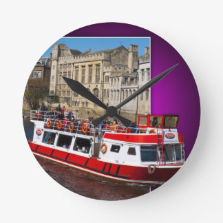 York Boat out of Bounds Wallclock