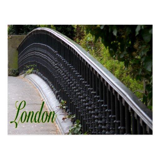 York Bridge-London-England Postcard