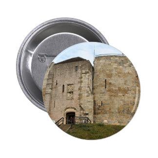 York Castle England United Kingdom Pinback Buttons