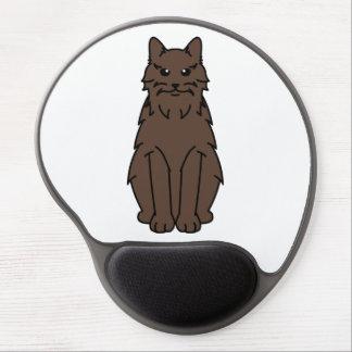 York Chocolate Cat Cartoon Gel Mouse Pad