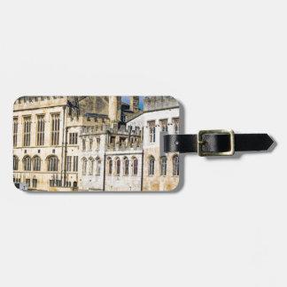 York City Guildhall river Ouse Bag Tag