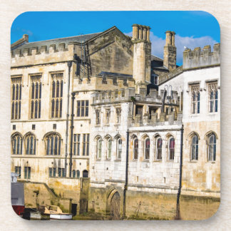 York City Guildhall river Ouse Beverage Coaster