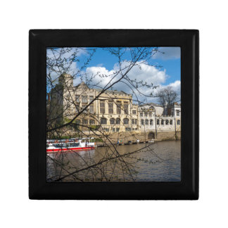York City Guildhall river Ouse Keepsake Box