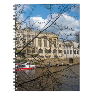 York City Guildhall river Ouse Notebook
