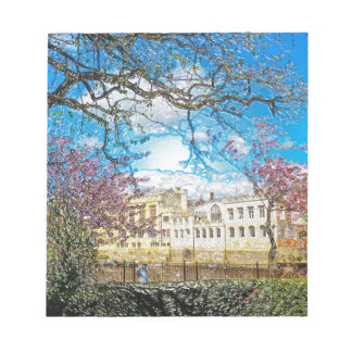 York City Guildhall river Ouse Note Pad